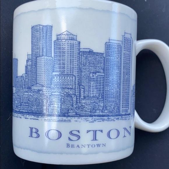 Boston Starbucks architecture mug